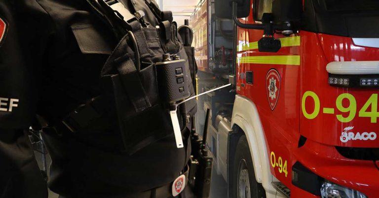 rfid utstyr bannmann brannbil