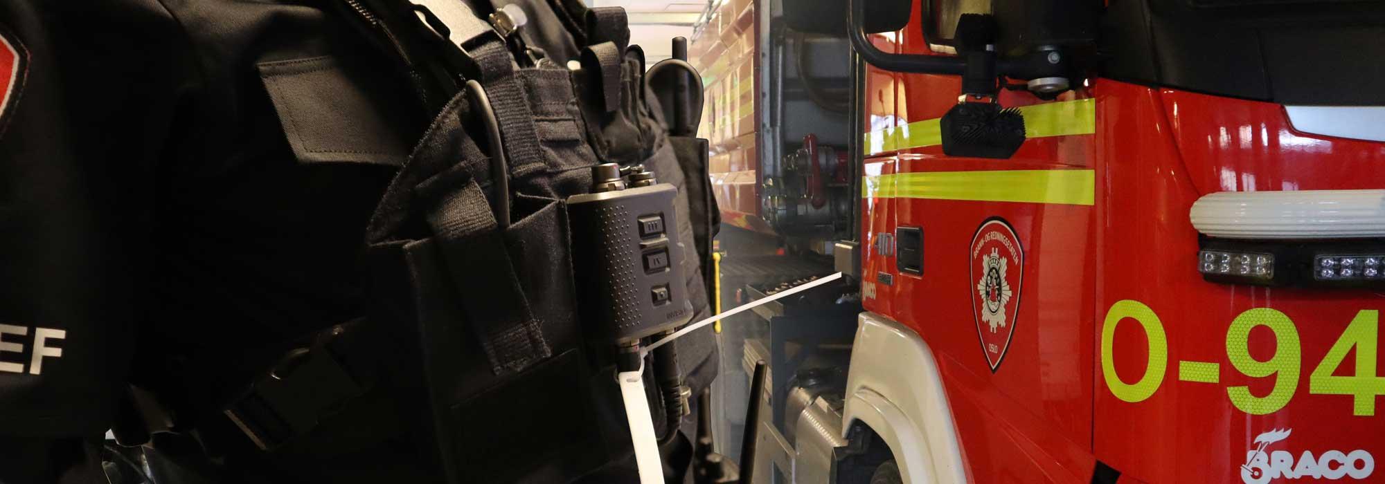 rfid utstyr brannmann brannbil